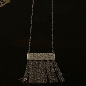 Brighton Marrakesh tassel long necklace